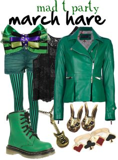 """""""Mad T Party March Hare"""" by princesschandler on Polyvore"""