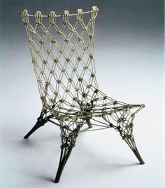 Marcel Wanders Metal Rope Chair