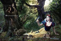 Snow White - Annie Leibovitz