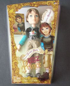 Bratz Boy Prince Iden With Collectible Sticker Hard to Find Rare FREE SHIPPING #MGAEntertainment #Doll