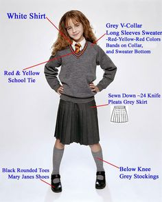 hogwarts school uniforms - Google Search
