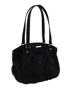 Vera Bradley Glenna in Black.  My new favorite purse.  Room for all the essentials, including my camera.
