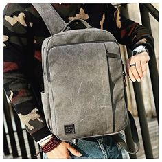Bag BW 104 in Luxury Canvas  Casual & Minimal backpacks #bwlifestyle #2017 #collection #freeglobalshipping #menstyle #fashion #gentlemen #style #luxurybags #bags #fashion #lifestyle #accessories #menaccessories