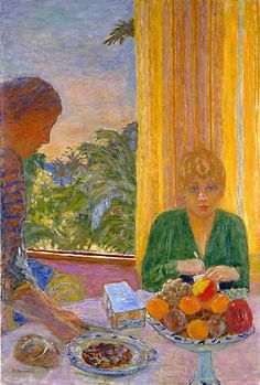 Pierre Bonnard (1867–1947), The Green Blouse, 1919.oil on canvas