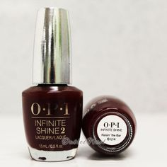 OPI INFINITE SHINE Raisin' the Bar - Air Dry 10 Day Nail Polish 0.5 oz IS L14 #OPI