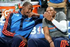 Kevin Durant #35 #KD & Russell Westbrook #0 OKC Thunder