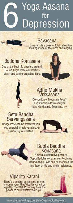 Yoga Aasana For Depression