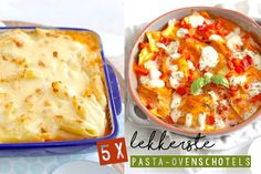 In dit artikel zetten de 5 lekkerste pasta ovenschotels van Lekker en Simpel op een rij. Van pasta al forno tot een ravioli ovenschotel.
