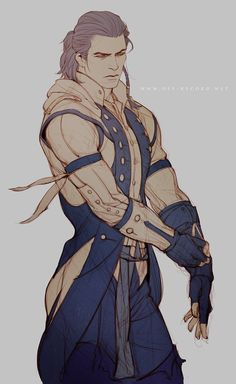AC - Connor by *offrecord on deviantART