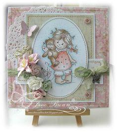 Bildmalarna 'Together' Nitwit Collections Cotton Candy http://thecraftbucket.blogspot.co.uk/