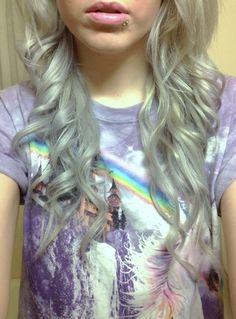 #hair #silver