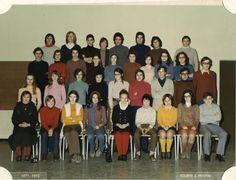 Photo de classe 2nd C4 I de 1972, Lycée Eugène Delacroix