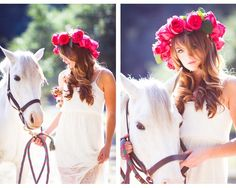 Sweet Violet Bride - http://sweetvioletbride.com/2013/01/look-flower-crown-bride-from-a-w-photography/