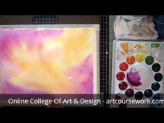 Learn how to do watercolour Backgrounds. www.artcoursework.com/igcse.html