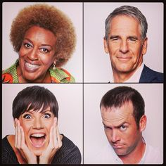 Stars of NCIS: New Orleans.