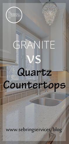 Granite vs Quartz Countertops Sebring Services