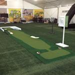 Custom golf hole
