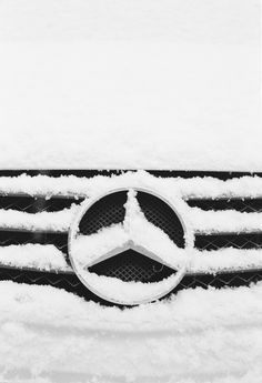 Wintry Mercedes