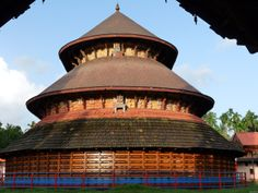 Architectural and Iconographic Relics of Buddhism in Kerala . Kerala Architecture, Temple Architecture, Vernacular Architecture, Indian Temple, Hindu Temple, Buddhist Temple, Martial Arts Weapons, Thatched Roof, Place Of Worship