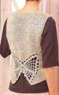 Free Knitting Patterns - Sleeveless