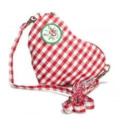 Herzzerreissend schön ist die kleine Tasche Heart Bag, die beweist, dass Du dein Herz am rechten Fleck hast. The Heart Bag is so beautiful that it rips your heart apart, which proves that you have your heart in the right place.