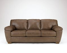 Signature Design by Ashley Amazon Sofa, Walnut