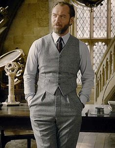 Fantastic Beasts Movie, Fantastic Beasts And Where, Jude Law, Albus Dumbledore, Harry Potter Movies, Handsome Boys, Gorgeous Men, Hogwarts, Cosplay Ideas