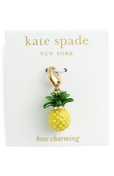 kate spade new york 'how charming' novelty charm | Nordstrom