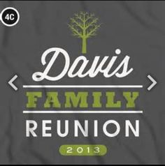 Fam reunion idea