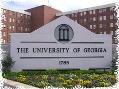 UGA sign in front of my old home :)