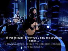 Katie Melua alta calidad. Traducción en inglés y español.
