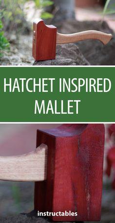 Hatchet Inspired Mallet