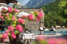 Wellnesscamping im Alpen Camping Nenzing