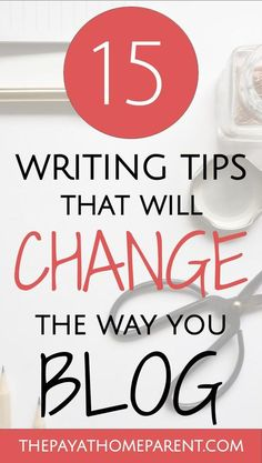 Writing a Blog Post This Way Will Make You Succeed. Use these 15 blog writing tips to improve your blog post writing skills and bring valuable content to your readers. You want to be a blogger? Make sure you are writing your blogs posts well and you will succeed!