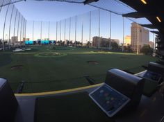 At the new top golf in #vegas #geekout #hpe #party