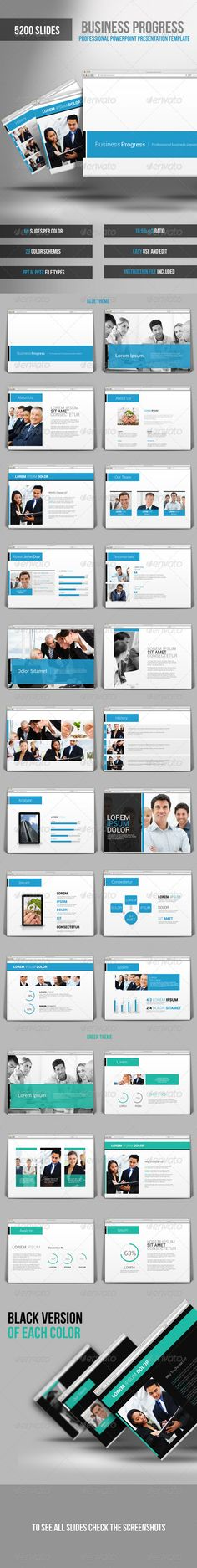 PowerPoint Business Presentation Template Business presentation - business presentation
