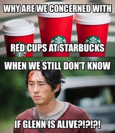 Dumpster>Cup - The Walking Dead Memes that live on after the characters and season ended. Memes are the REAL zombies of the show. Glenn The Walking Dead, Walking Dead Quotes, Walking Dead Zombies, Daryl Dies, Dead Inside, Stuff And Thangs, Best Shows Ever, Laugh Out Loud, Favorite Tv Shows