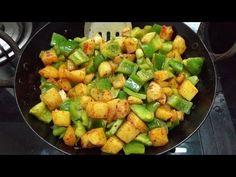 Potato & Capsicum Stir Fry Recipe -- Quickfixes -- No Onion, No Garlic Recipe