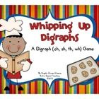 These adorable little chefs will have your students love reading words with digraphs (ch, sh, th, wh).  All words contain short vowels and are easi... $3.00