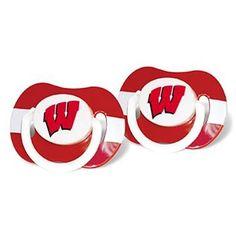 Wisconsin Badgers Pacifiers