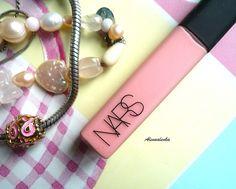 "Alenka's beauty: NARS Lip Gloss - ""Turkish Delight"". Отзыв, свотчи"