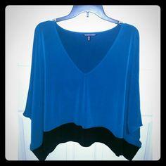 Victoria's Secret top Flowy blue top. Fits medium size girls as well. Victoria's Secret Tops
