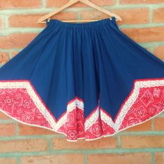 Great Skirt, Western, Rockabilly, Square Dance, Little House Creations, Made in the USA