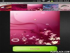 """Pink Live Wallpapers  Android App - playslack.com , pink live wallpapersBe pretty in Pink Live Wallpaper!! Let this beautiful Smart phone application boosts you with energy, passion and excitement! And many other things that Pink colour represents! Let the romantic pictures make the happy atmosphere wherever you go. Now you can have lovely 3D pink roses or hearts drifting across your display and making you feel sensual. You'll just adore your new animated """"Pink Live Wallpapers"""" while you…"""