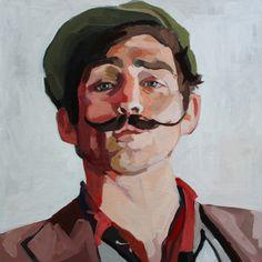 """Saatchi Online Artist: Erin Fitzpatrick; Oil, Painting """"Walker Babington"""""""