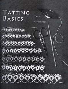 Tatting pattern by Venus                                                                                                                                                      More