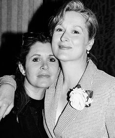 """""""As my friend, the dear departed Princess Leia, said to me once: Take your broken heart. Make it into art."""" - Meryl Streep"""