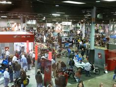 Aerial shot of the awesome IMS 2012 show in Chicago