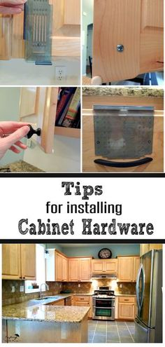 How To Add Hardware To Cabinets