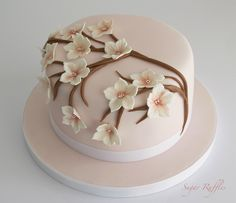 Cake Decorating For Beginners, Creative Cake Decorating, Cake Decorating Designs, Creative Cakes, Cake Designs, Birthday Cake For Mom, Birthday Cake With Flowers, Cake Decorating Frosting, Birthday Cake Decorating